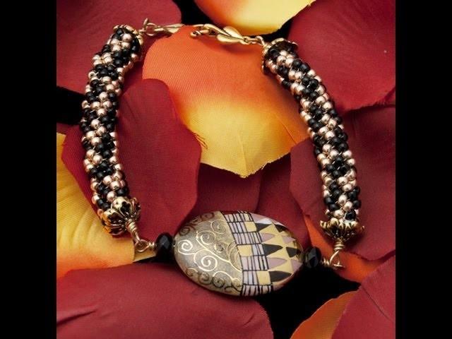 Braccialetto Klimt - Parte 1 | Come Fare una Bracciale - HobbyPerline.com