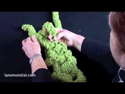 Fare la maglia a mano: l'intreccio doppio