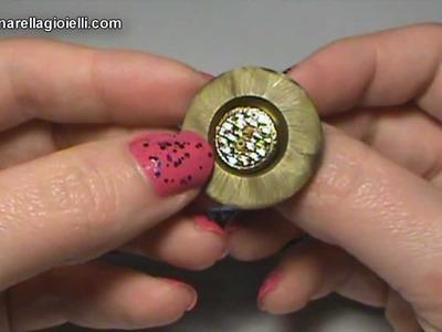 I miei anelli con i bottoni | Nuove creazioni | Button ring recycle