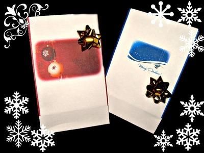 Schemi sacchetti di Natale personalizzabili.