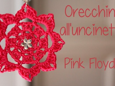 Tutorial orecchini all'uncinetto | Pink Floyd