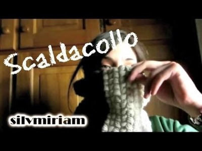 Tutorial Puff-stitch - scaldacollo all'uncinetto