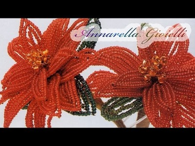Tutorial | Stella di Natale con perline | parte 2.2 | Poinsettia bead tutorial