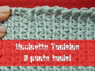 Uncinetto Tunisino - Punto tunisi introduzione e avvio alternativo