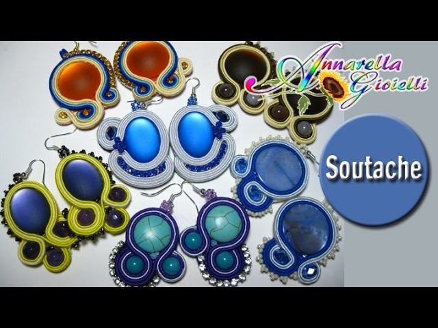 Update Creazioni Dic. 2014| Soutache | Only earrings