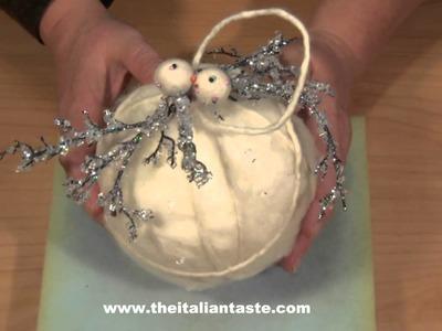 Video palline natale con feltro 2