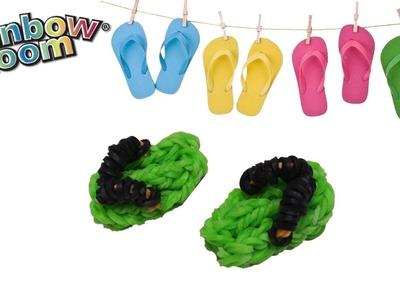 Ciabatte con Elastici Rainbow Loom Sandals. Flip Flops Tutorial  ♥