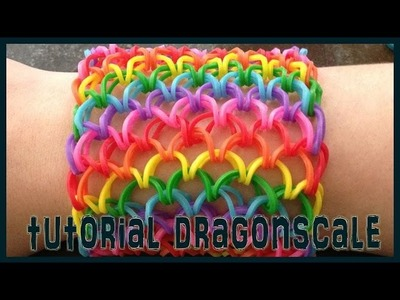 Giochini Maturi Ep. 23: DRAGONSCALE RAINBOW LOOM TUTORIAL- ITA