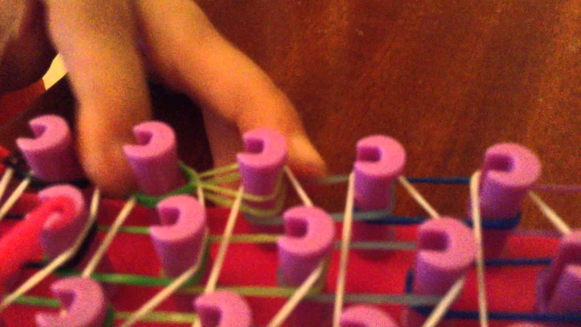 Rainbow loom italiano tutorial #001