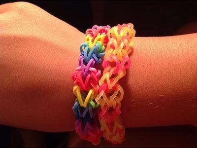 Tutorial Braccialetto Rainbow Loom ^_^ Osso di Drago *---* [SPIEGAZIONE IN ITALIANO]