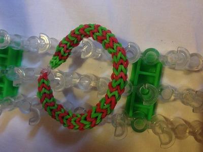 DIY bracciale circolare con elastici