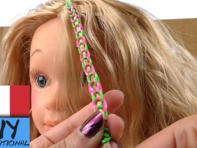 Arcobaleno di elastici colorati per capelli