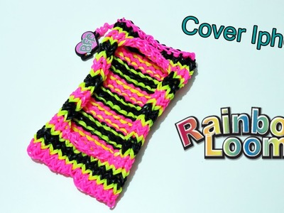 Phone Cover Iphone con Elastici Rainbow Loom ( Compatibile con tutti iPhone ) Tutorial