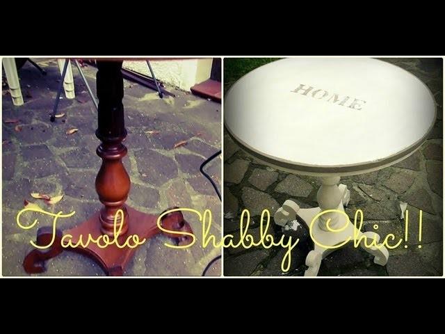 DIY tavolo shabby chic - DIY shabby chic table | Ste pi
