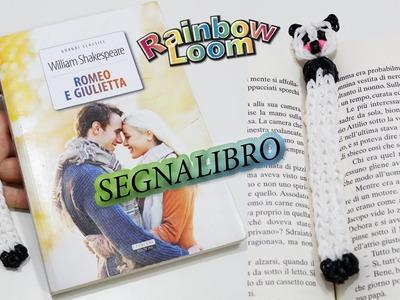 Segnalibro con Elastici Rainbow Loom DIY Bookmark ♥