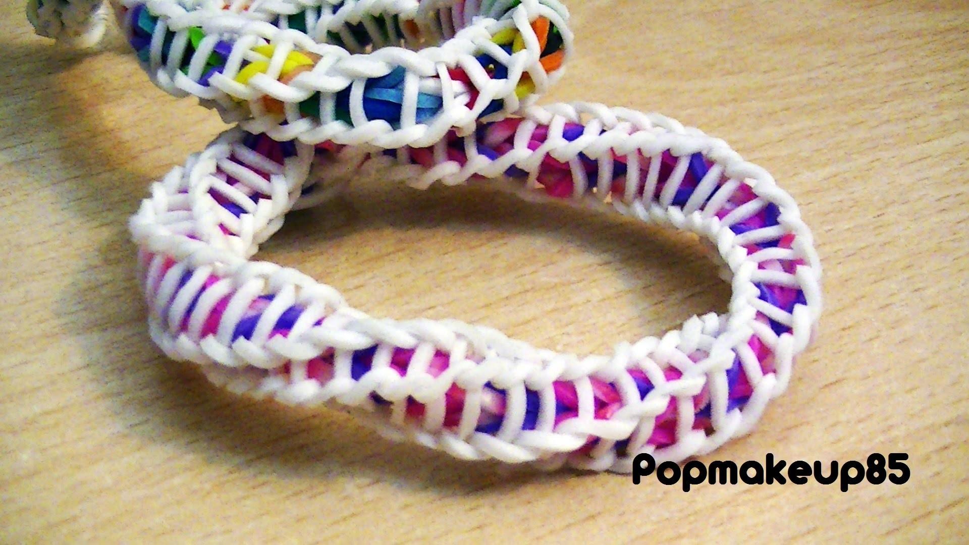 Come fare Loom Bands Spiral Bracelet (Spirilla)Tutorial Italiano.Spiegato passo x passo