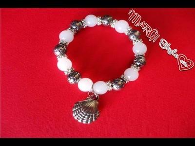 Come fare un bracciale con perle semplicissimo