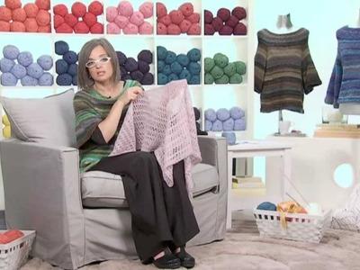 Realizzare uno scialle a maglia.2 Presenta Emma Fassio