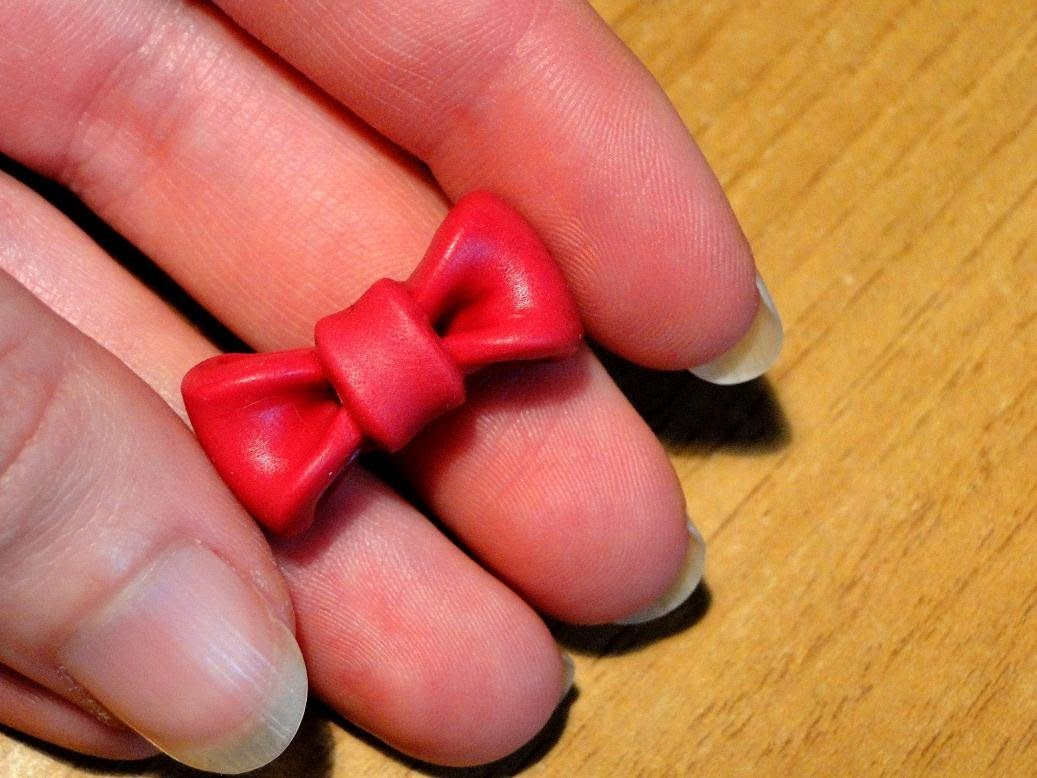 Tutorial 36 • fiocco in fimo e cernit - how to create a polymerclay bow