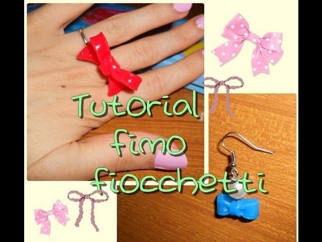 Tutorial fimo ! Fiocchetti (2 varianti) ^ ^