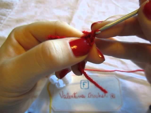 """Uncinetto, lezione n. 4 """"MAGLIA ALTA""""  by Valentina Crochet"""