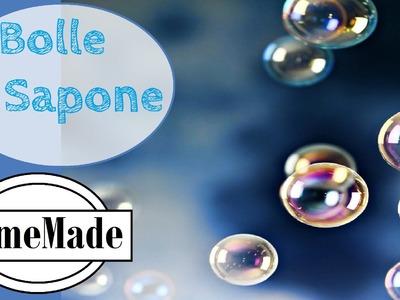 DIY - Bolle di Sapone fai da te - giochi per i bimbi - bubble home made