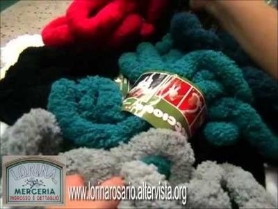"""Lavorazione lana treccione """"Revolution"""""""