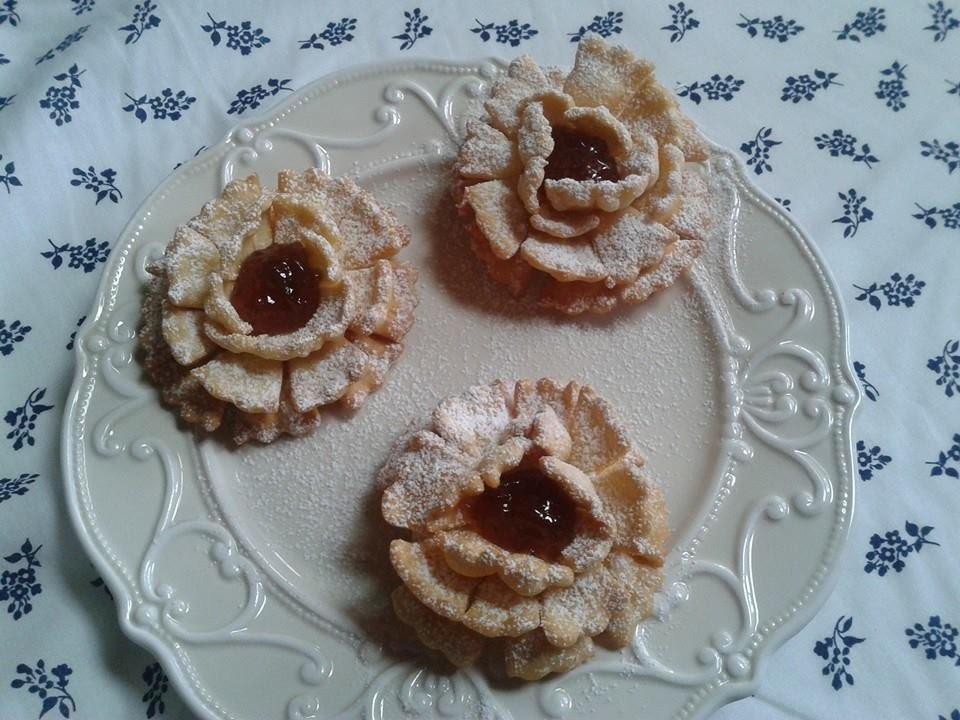 Rose di Carnevale,ricetta di Carnevale