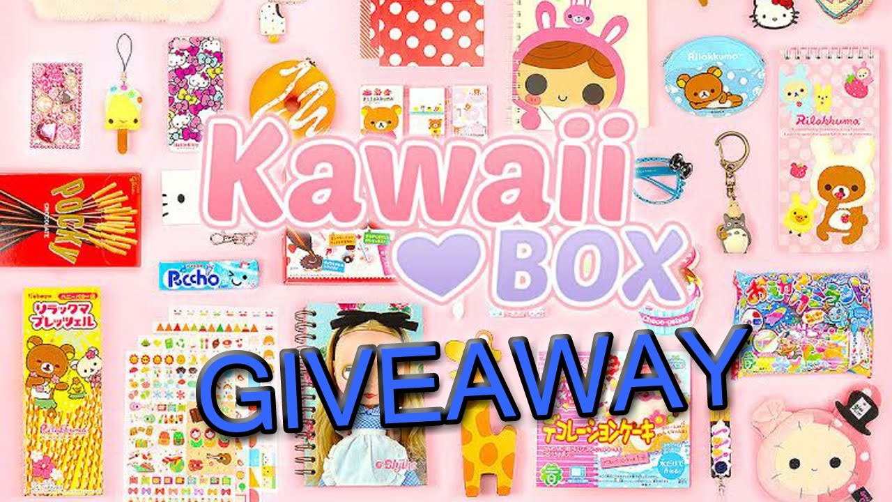 GIVEAWAY ♥ Kawaii Box ♥ Vinci una Scatola con Puccioserie Kawaii❥(Aperto )