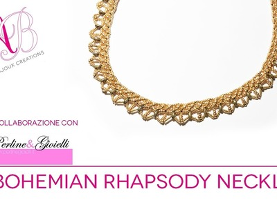 Bohemian Rhapsody Necklace Tutorial | 2° video in collaborazione con Perline & Gioielli