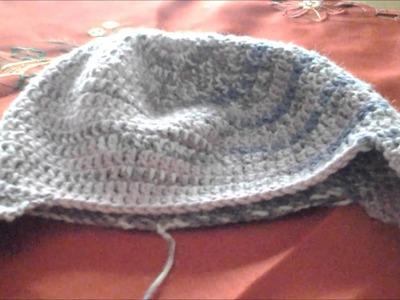 Cappellino con paraorecchie bimba - parte 2