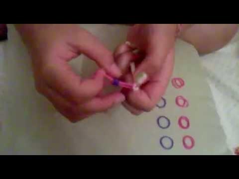 Ely Rainbow Loom come realizzare un fiore con gli elastici