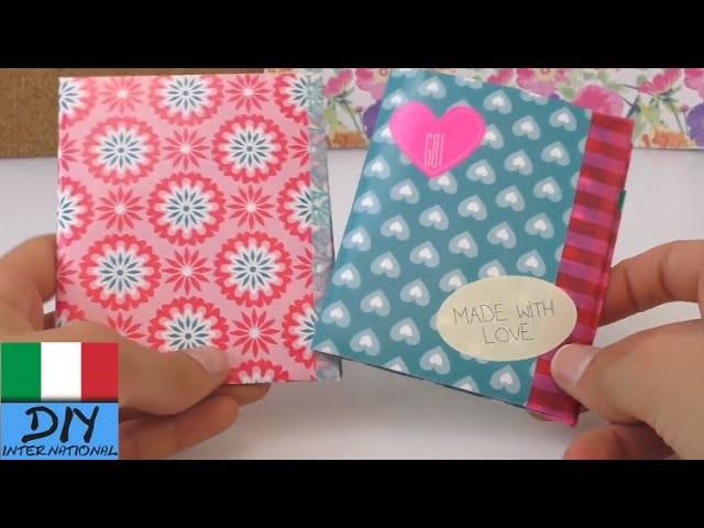 Portafoglio fatto di carta. Portafoglio fai da te. DIY - portafoglio di carta compatto e facile