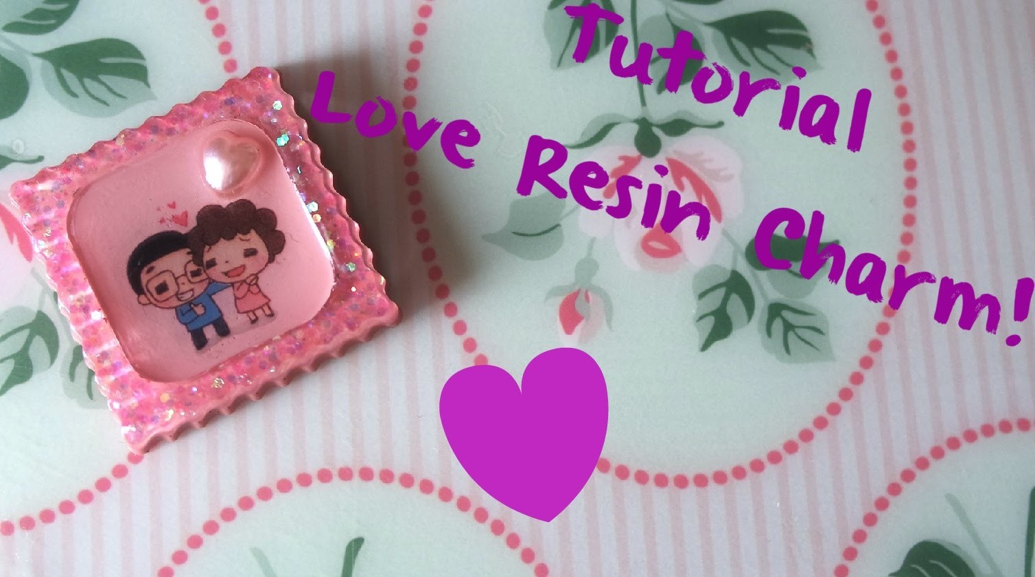 DIY Resin: Kawaii Love Charm!