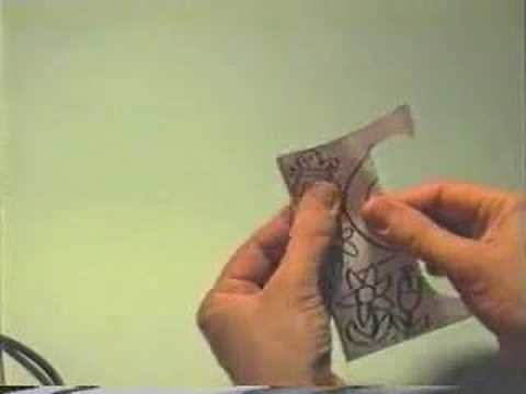 How to make: the butterfly's pop-up card