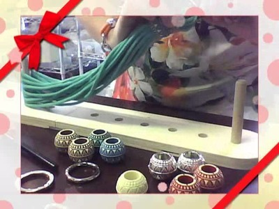 ManiciClaretta con maxi perle