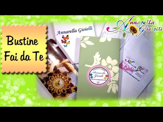 Bustine fai da te | Gift bag tutorial
