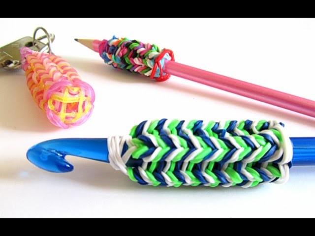 Come fare il cordoncino tricotin con il telaio Band Loom e gli elastici colorati