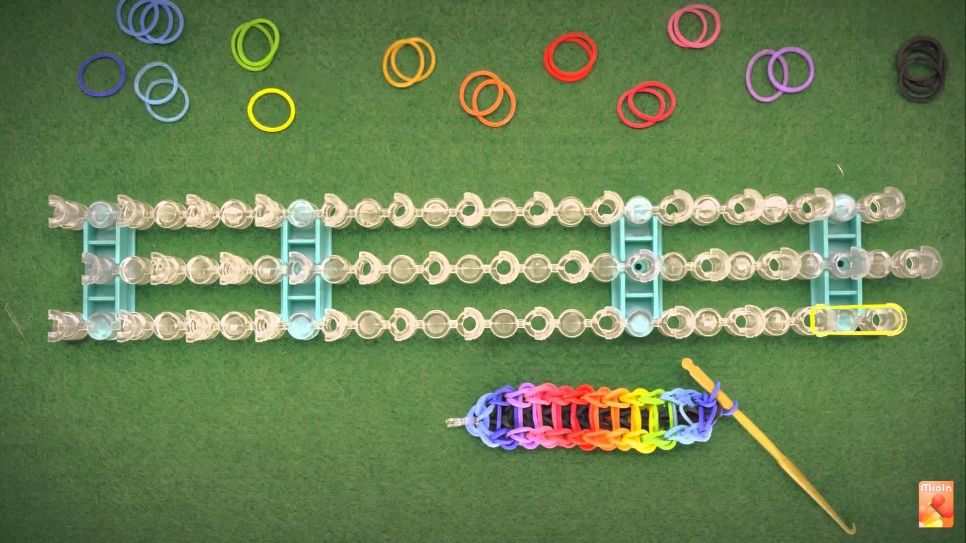 Loom bands - Presentazione telaio per braccialetti gommosi