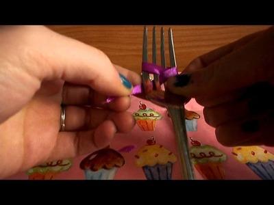 TUTORIAL: fiocchetti precisi grazie alla forchetta!