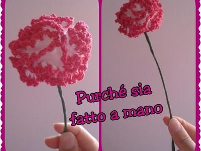 Fiore di Garofano all'uncinetto - Carnation Flower