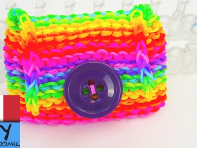 Rainbow Loom Wallet. Loom Bands portafoglio con Rainbow Loom Tutorial | italiano