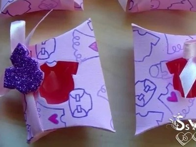 Tutorial: Bomboniere Battesimo Fai Da Te | Baptism Favor Boxes boy.girl | Collab. con SweetBioDesign