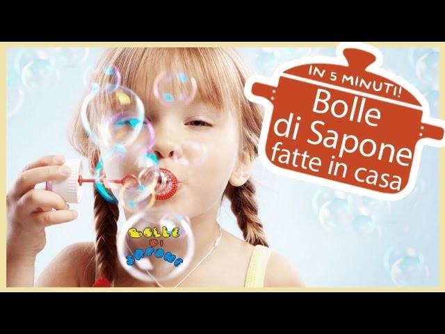 DIY: Bolle di Sapone fatte in casa in 5 minuti | Soap Bubbles | Baby Kitchen