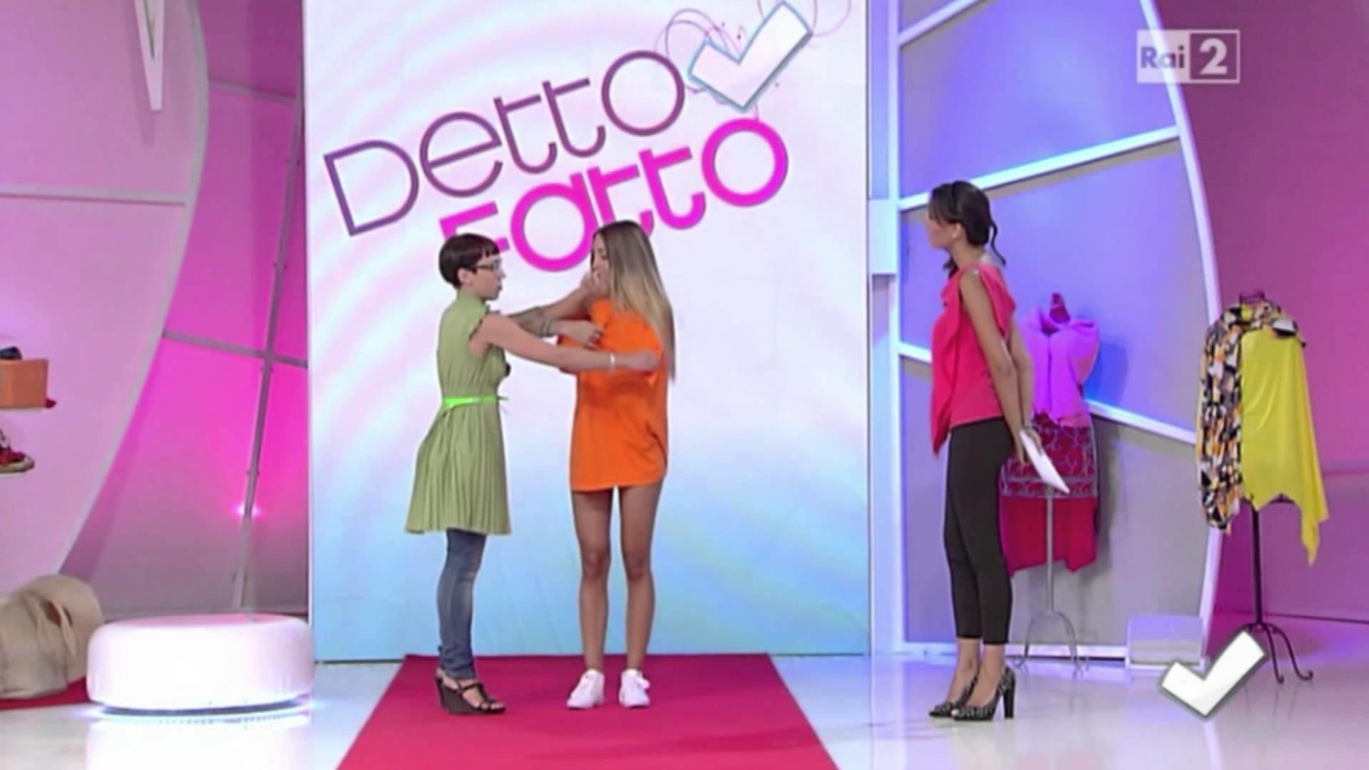 TUTORIAL: MAXI T-SHIRT [Simona Miani @ Detto Fatto | Rai 2 | 11.09.2013]