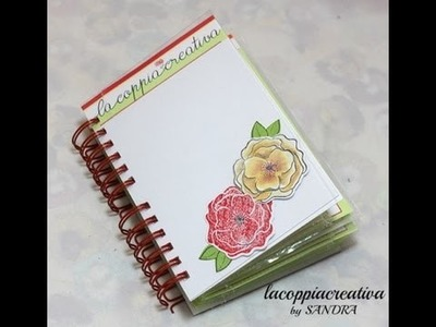 Scrapbooking tutorial:Raccoglitore fustelle e timbri-Dies and stamps storage idea