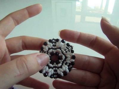 Video creazioni: orecchini con perle, superduo e swa e orecchini con disco forato in madreperla