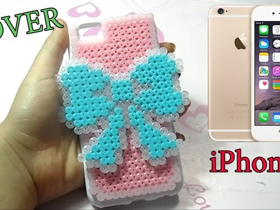 IPhone 6 Cover Hama Beads ♥Carcasa móvil con Perler Beads♥