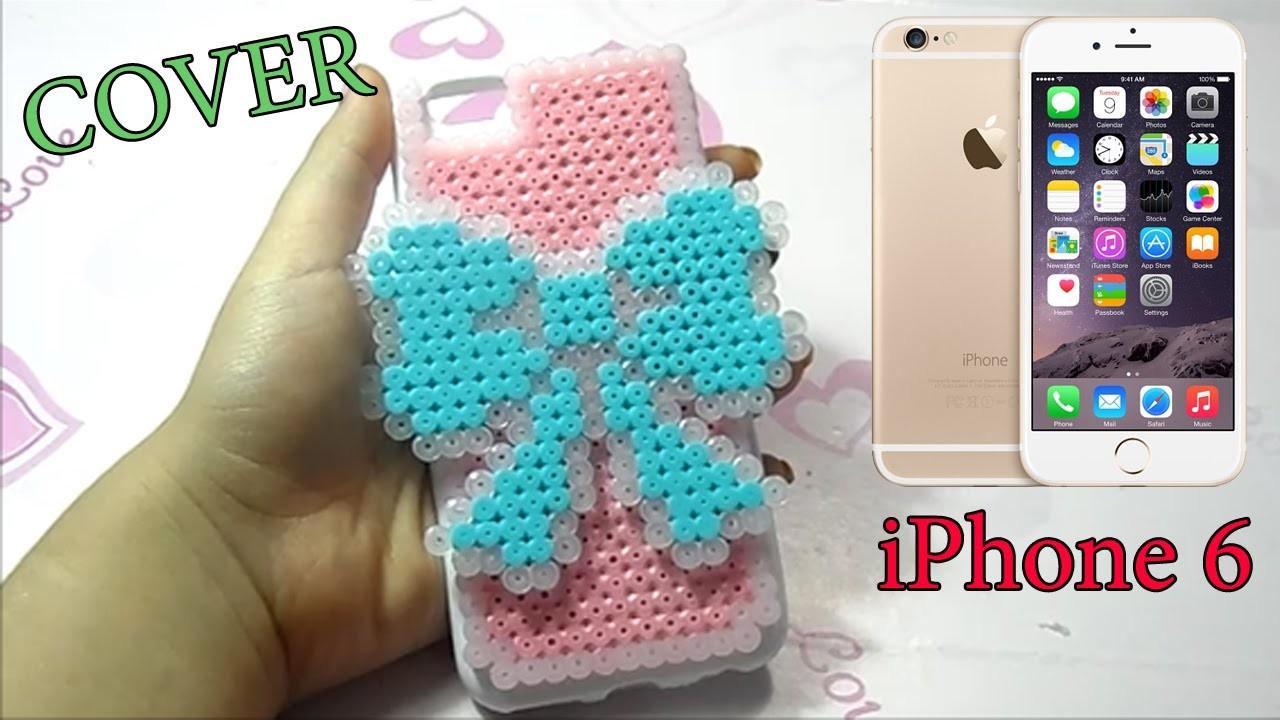 IPhone 6 Cover Hama Beads ♥Carcasa móvil con Perler Beads♥