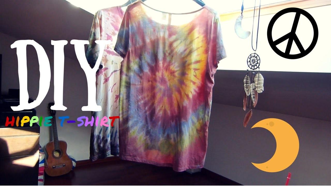 DIY - Hippie T-shirt (fai da te)